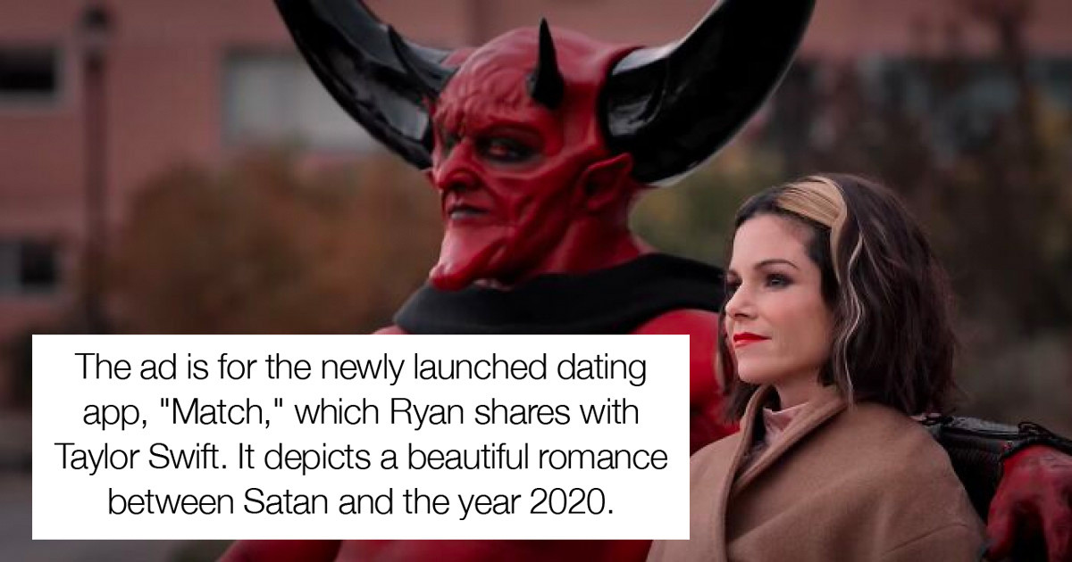 Ryan Reynolds And Taylor Swift Own A Dating App, And It's Latest Ad Is Nothing Short Of A Masterpiece