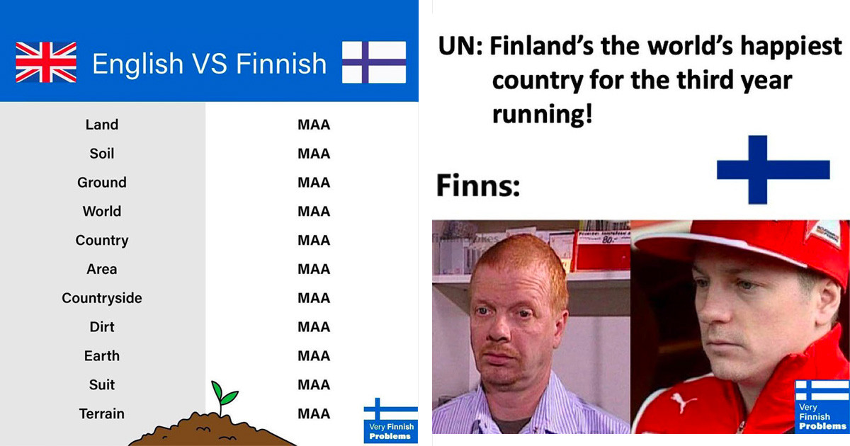 """50 Hilarious Photos Of """"Very Finnish Problems"""" Shared On The Amusing Instagram Page"""