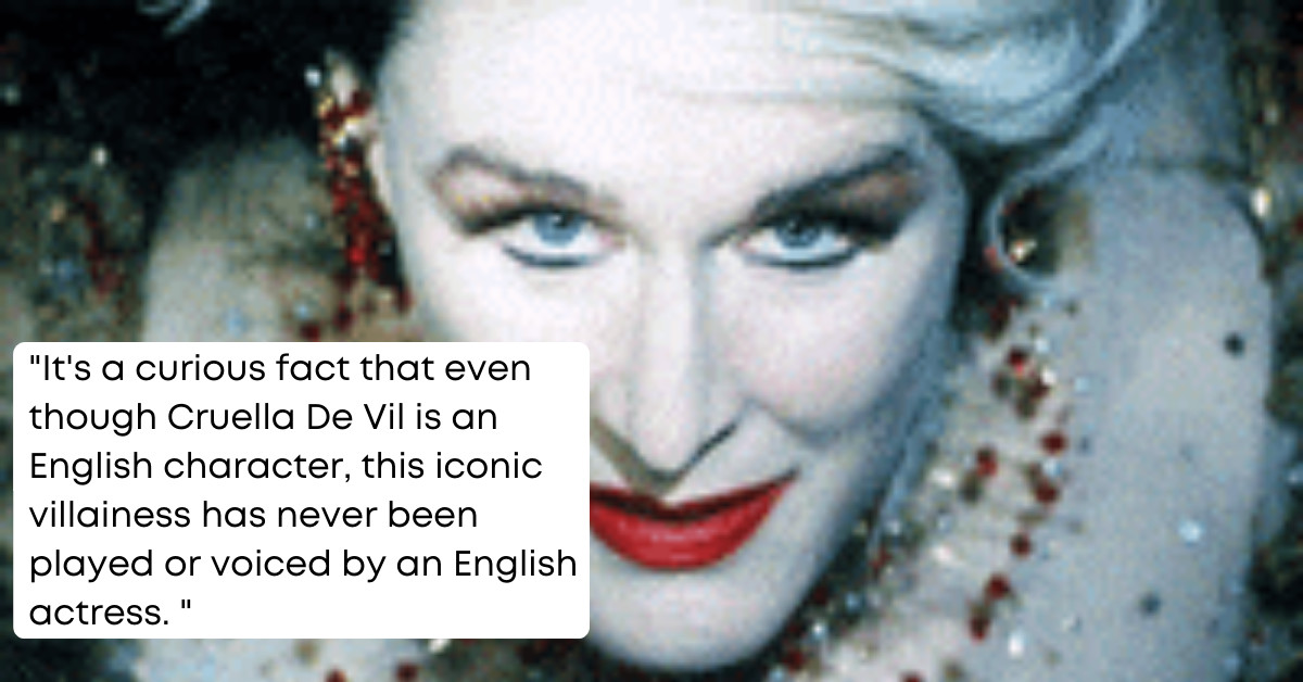 18 Astonishing Facts You Didn't Know About Disney's Blockbuster Movie, Cruella