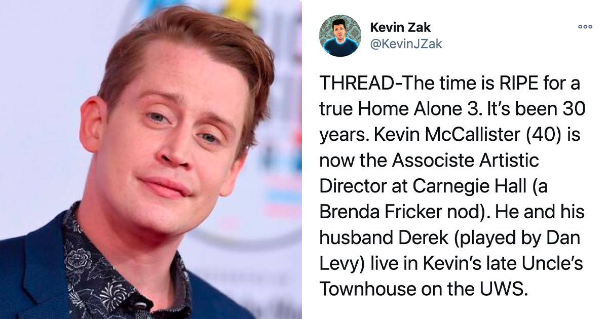 "Man Comes Up With An Epic Plot For A ""Home Alone"" Sequel, And 73K Twitter Users Are On Board"