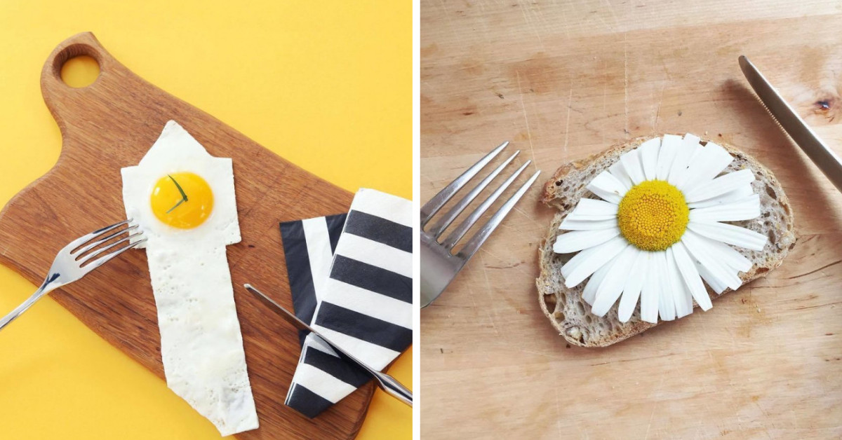 Artist Is Inspired By Food And Uses It To Create Fun And Unexpected Stories