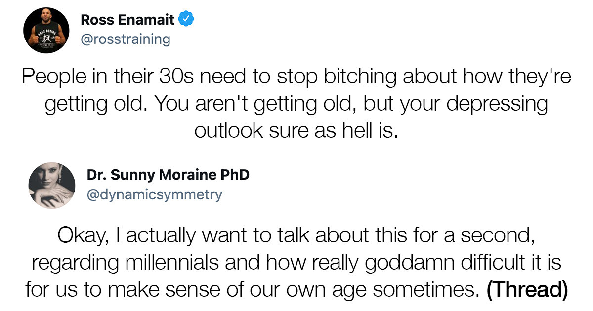 Sociologist Millennial Gets On Twitter To Explain A Lot About Millennials And Their Self-Denial About Their Age