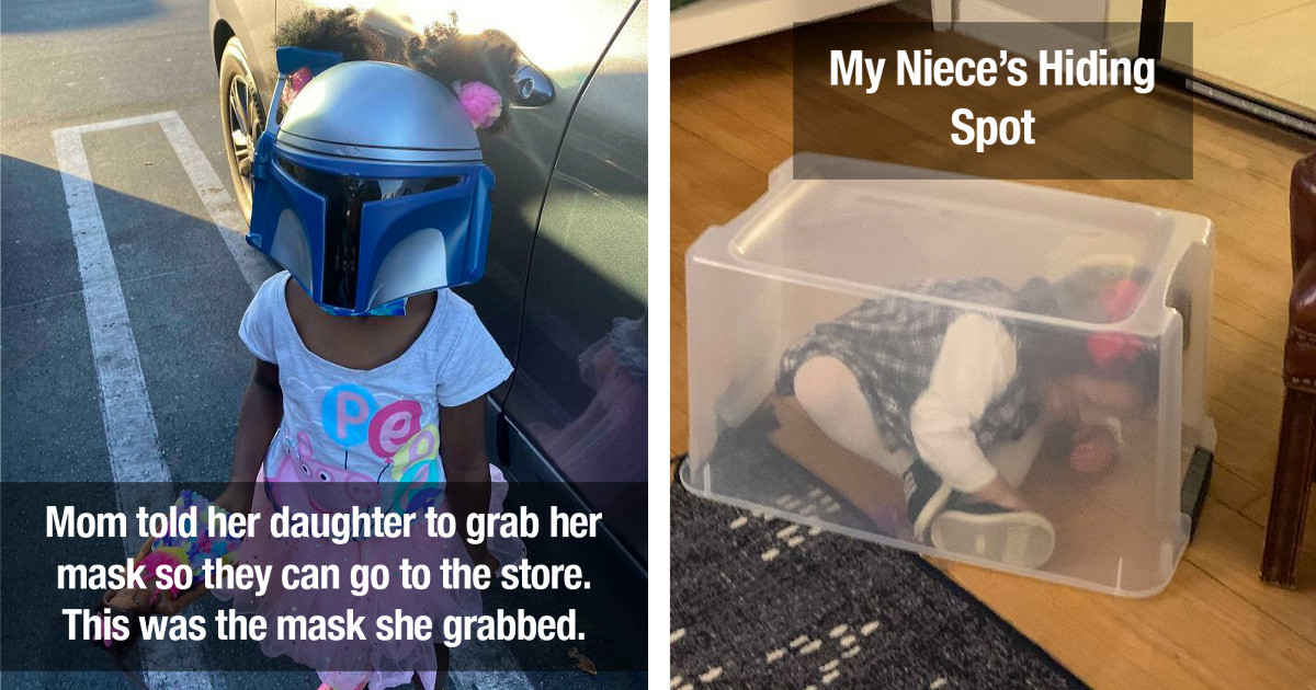 50 Stupid Things Kids Did That Adults Believe Are Too Cute Not To Share