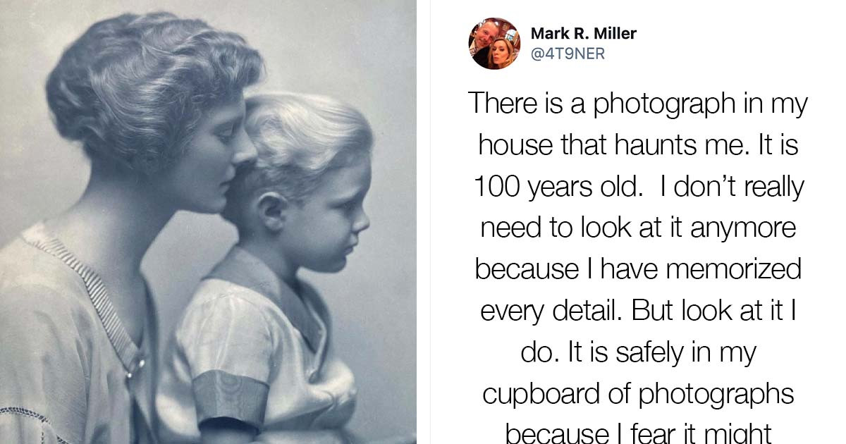 Man Shares A Century-Old Photograph That Tells A Story Of A Lesbian Relationship In His Family