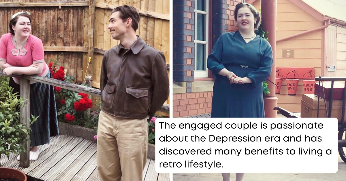 This Couple Is Living Like It's The 1930s, And It's The Most Charming Thing You'll See Today
