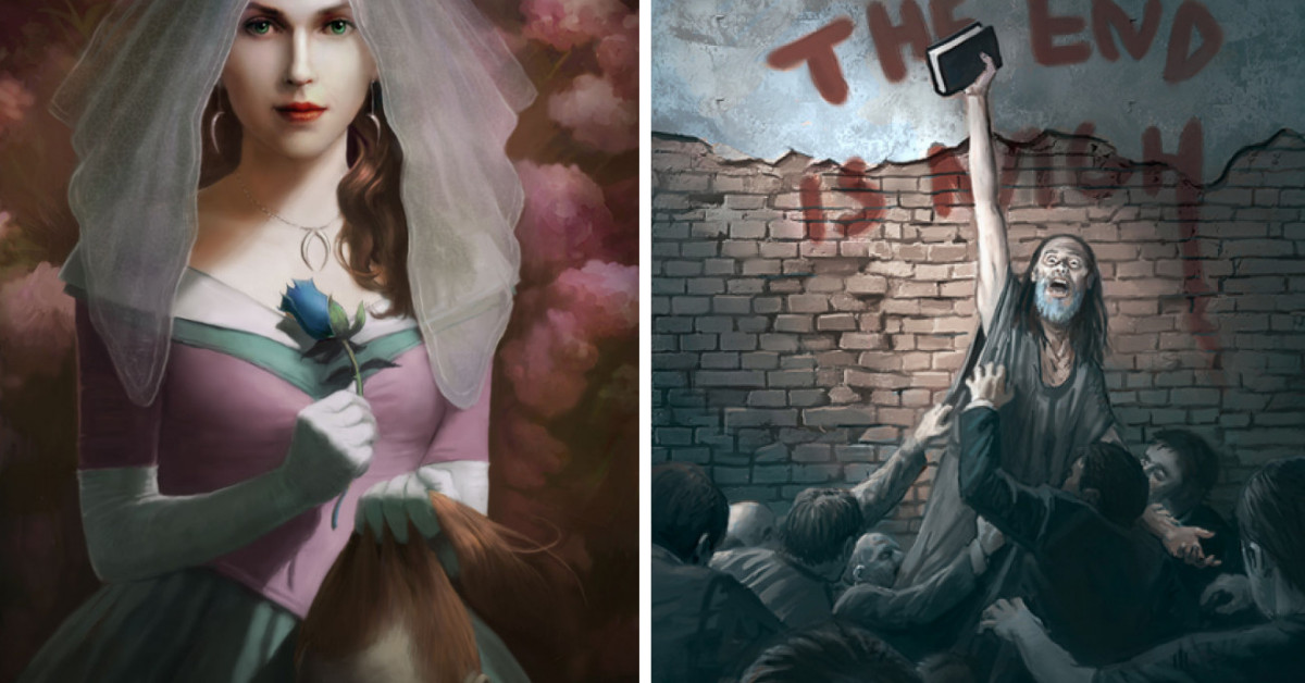 These Artworks Will Scare The Hell Out Of You When You Observe And Look Closely At Them