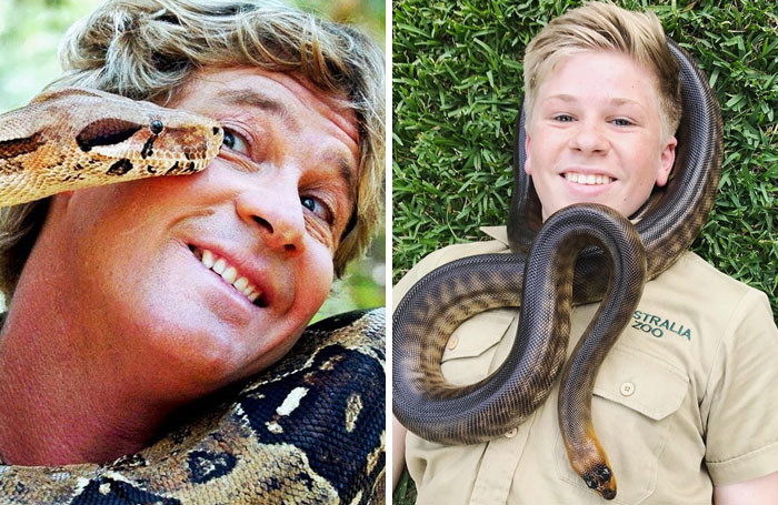Or snakes? They seem to be big fans of snakes. But who can blame them when they're so photogenic?