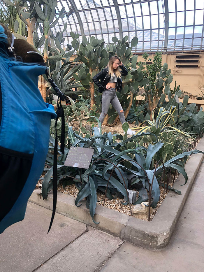 #9 Woman Stomped All Over The Plants In This Conservatory For Instagram Shots Despite Staff Repeatedly Asking Her To Stop