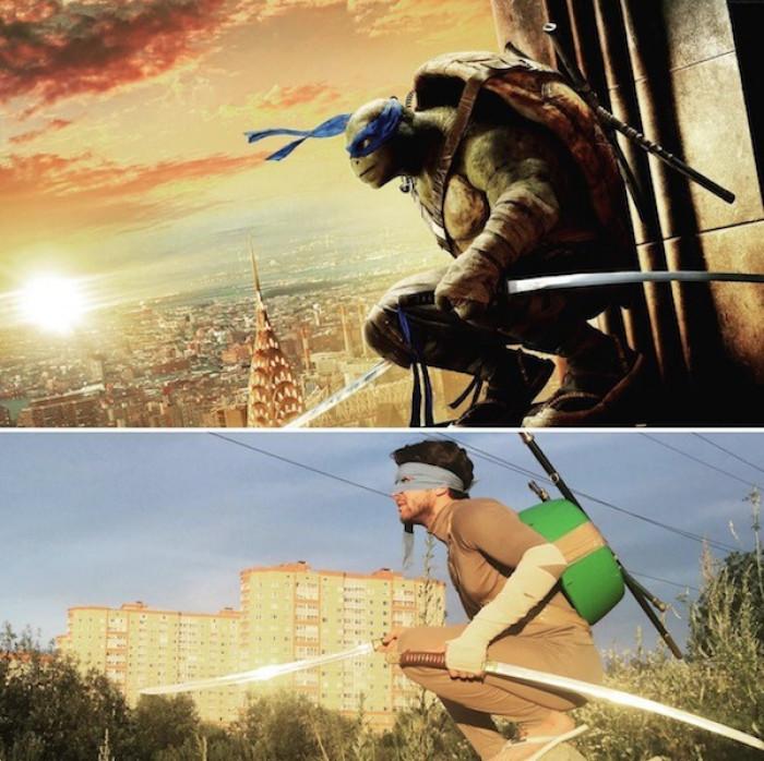 13. Leonardo from TMNT