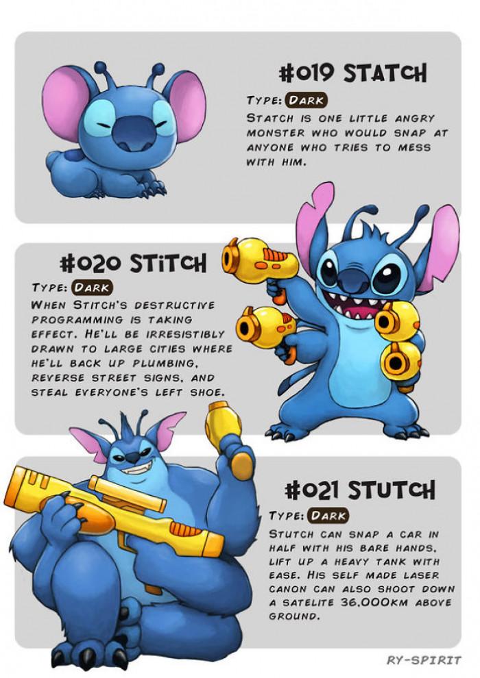 8. Statch, Stitch and Stutch