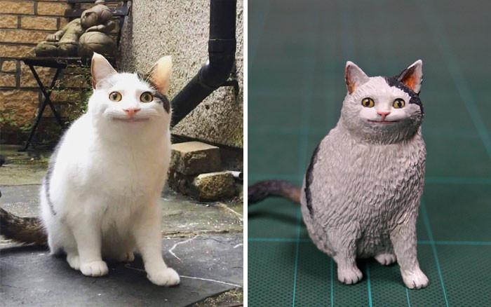 3. Happy cat.
