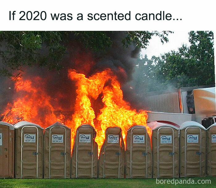 If 2020 was a scented candle...