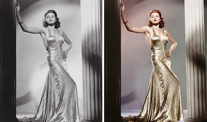 #20 Rita Hayworth