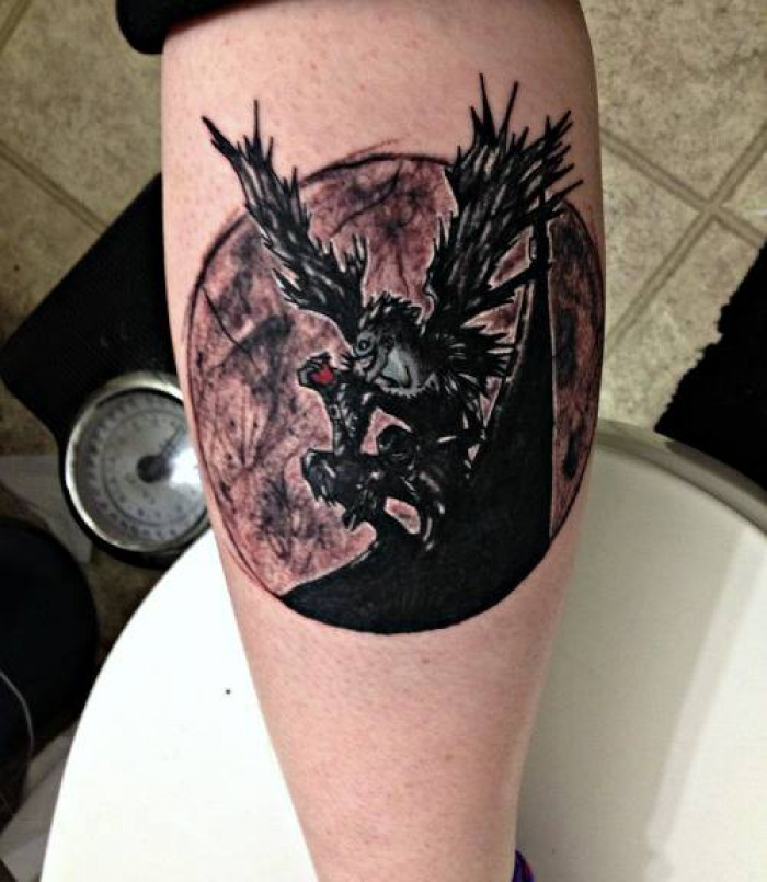 Design death note tattoo These 10