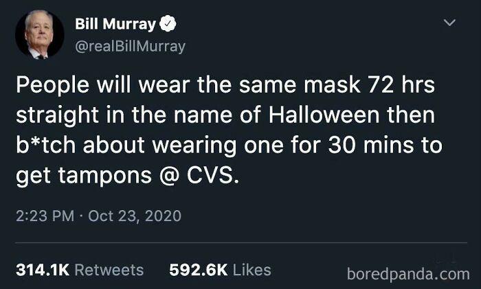 3. You tell em' Bill Murray