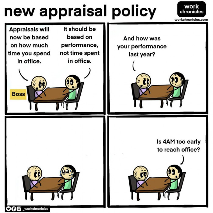 45. New appraisal policy