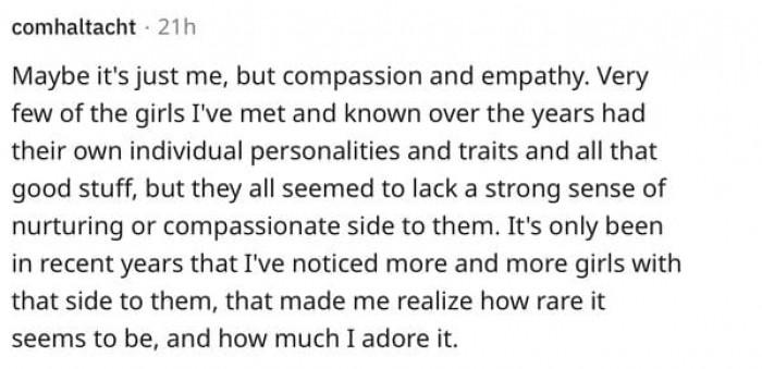 13. Empathy