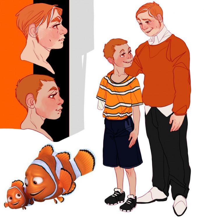 1. Nemo And Marlin
