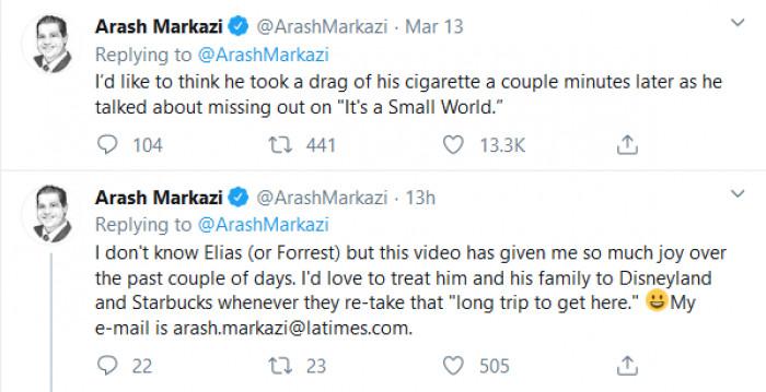 Arash added onto his original comment about Elias's seemingly non chalant behavior.