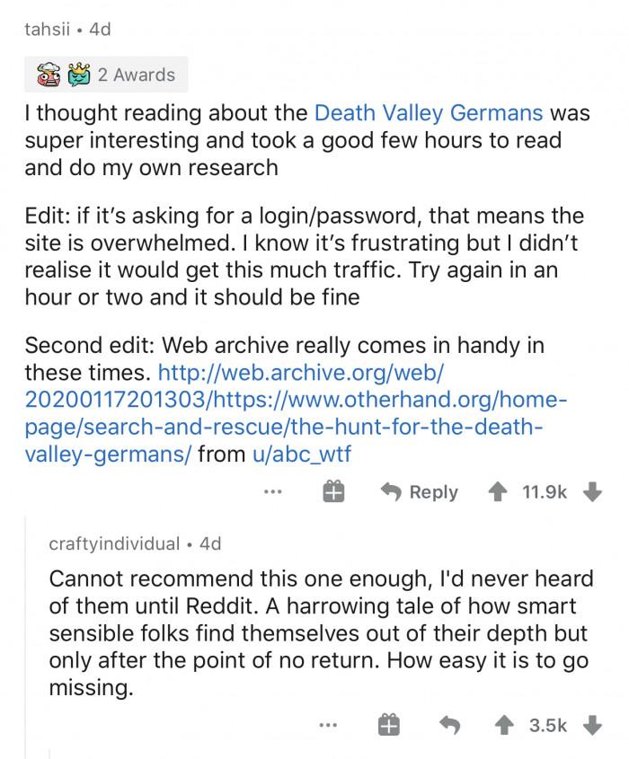 4. Death Valley Germans