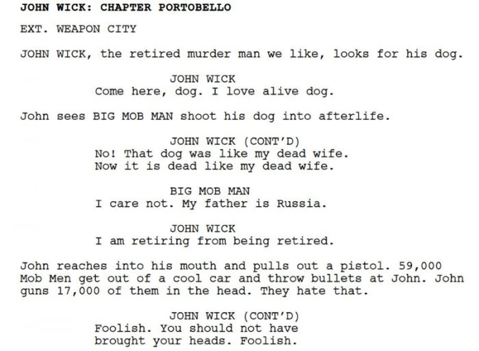 If this script doesn't bread your butter, I don't know what could.