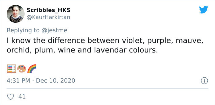 Purple is purple isn't it?