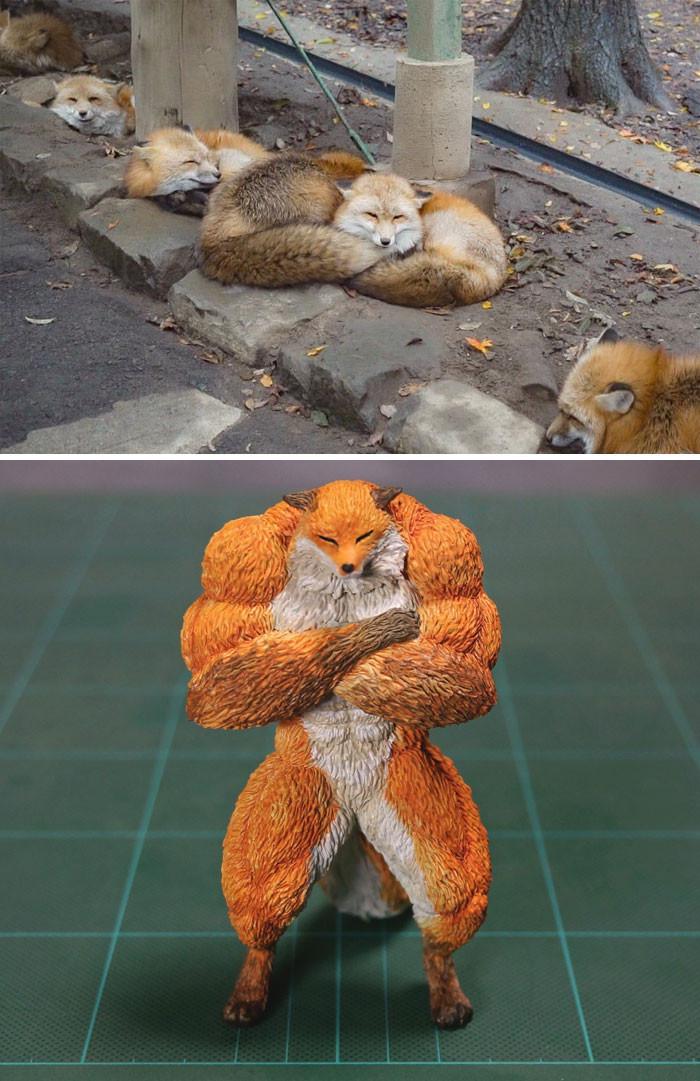 4. Strong fox.