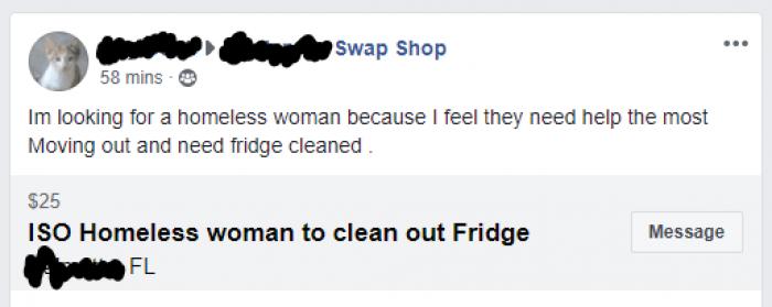 2. I need my fridge cleaned….