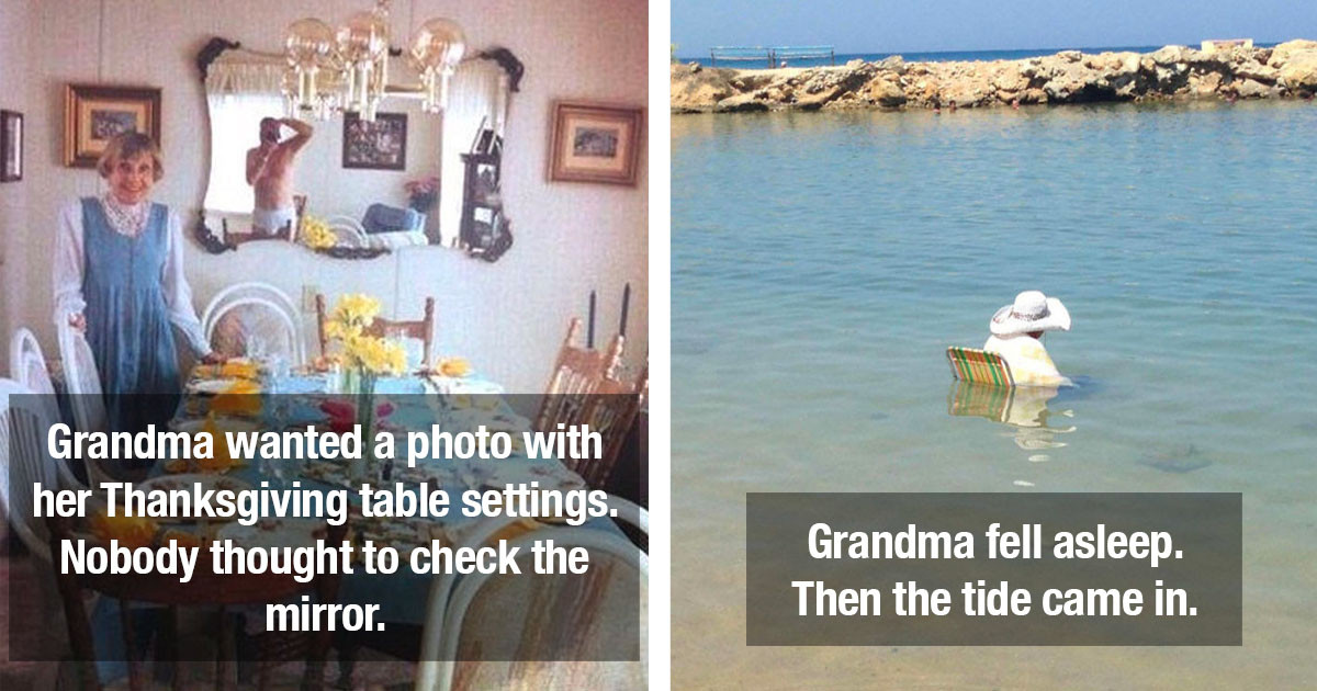 If You Think Your Family Photos Are Bad, Wait Til You See These