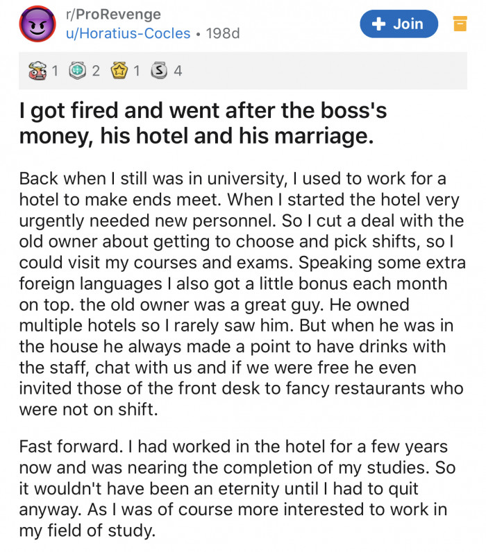 Here's the Redditor's original post: