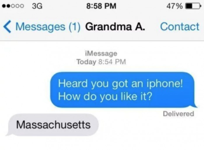 38. Grandparents are awesome lol