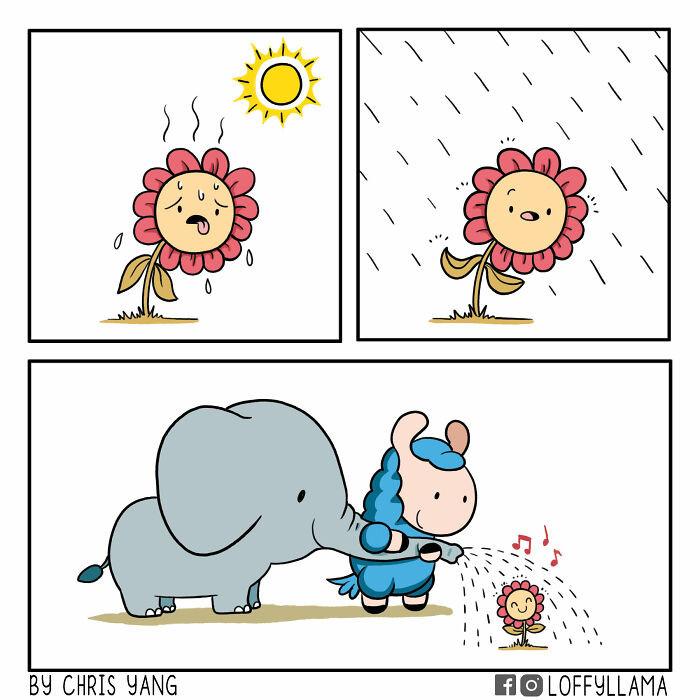 19. Raindrops