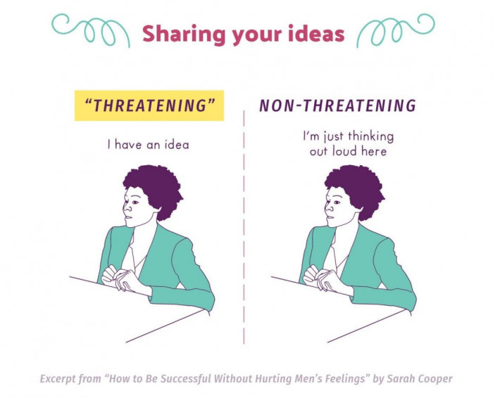 Sarah Cooper on... 'Sharing Your Idea' in corporate America