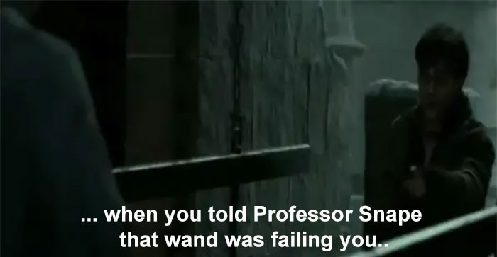 Harry gains respect for Snape a lot later in the series...