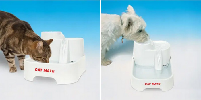14. Pet Mate Flowing Water Fountain
