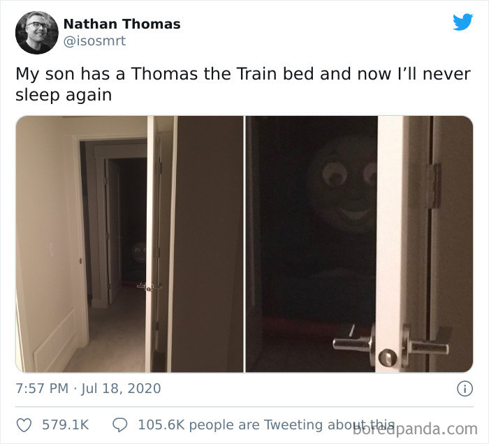15. Thomas the Train is creepiest character ever