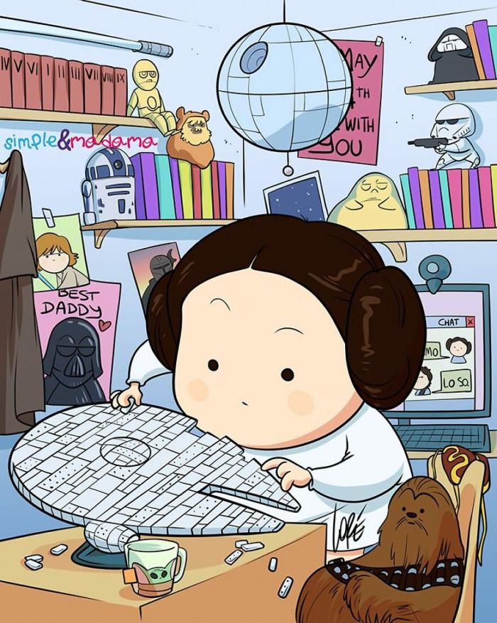 #4 Princess Leia