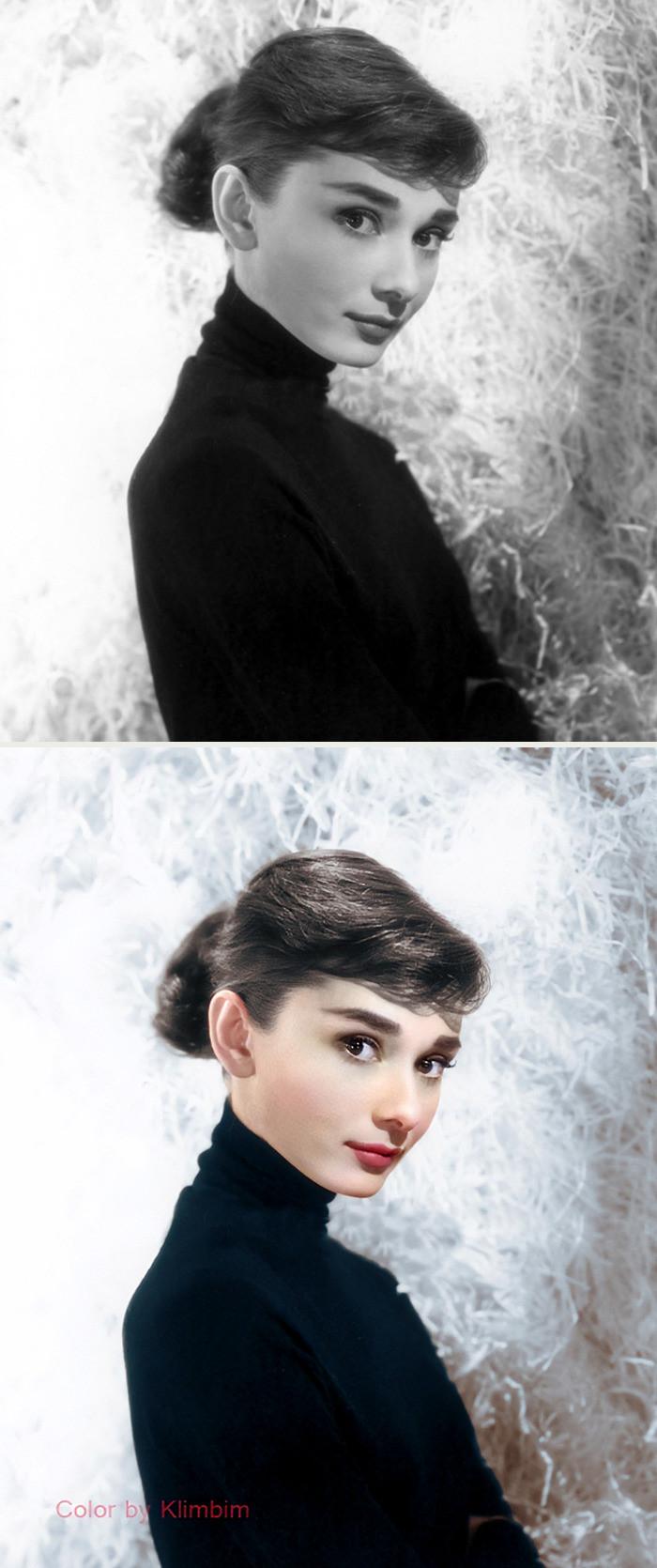 #11 Audrey Hepburn