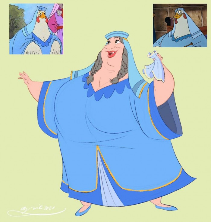 4. Lady Kluck, From Robin Hood