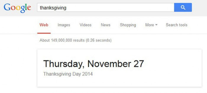 2. Google can provide information about festivities