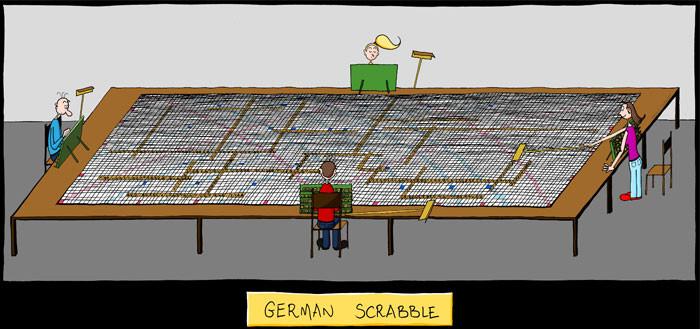 34. German Scrabble