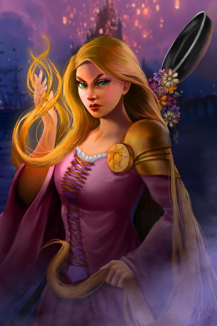 6. Rapunzel, Tangled