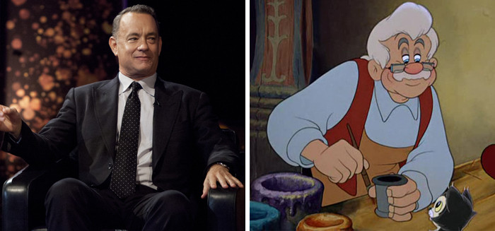 There are rumors that one of Hollywood's nicest guys—Tom Hanks—is thinking about playing Geppetto