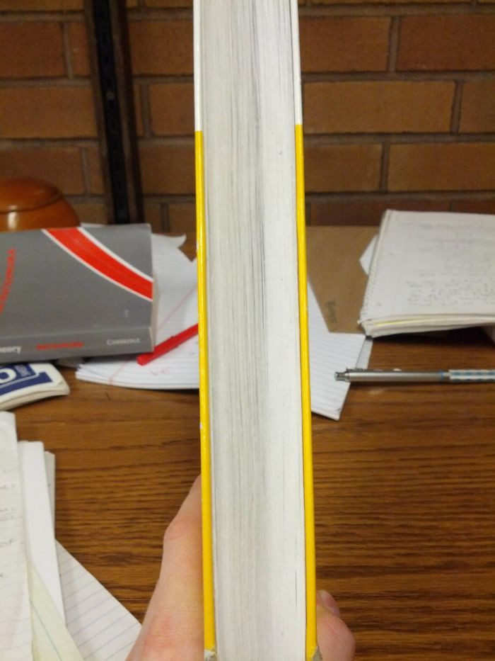 He has been studying out of this book for a year now and you can clearly see how far he is.