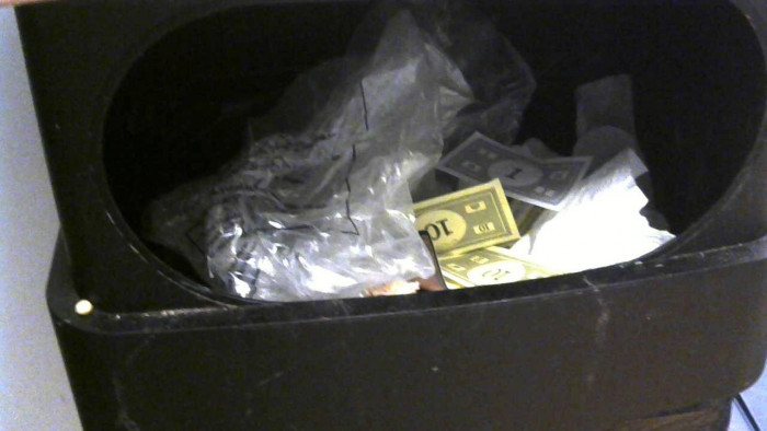 3. Lil_used_toothbrush posted: My little brother was too lazy to clean up Monopoly so he threw it in the trash