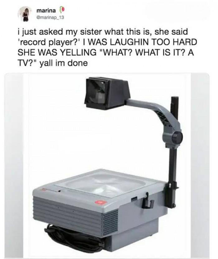 It's a robot