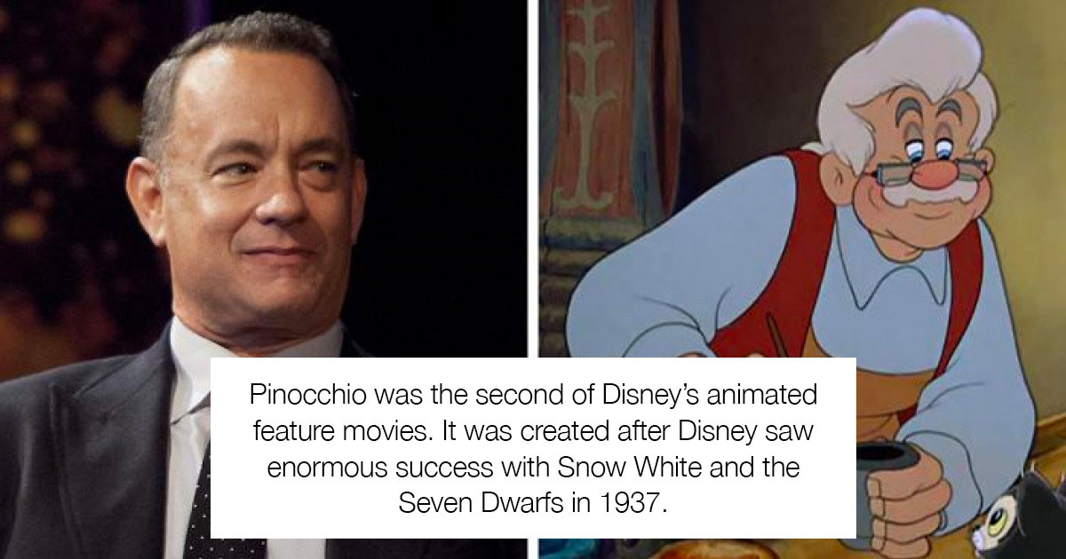 """Tom Hanks Is Thinking About Accepting The Role Of Geppetto In The Upcoming Live-Action """"Pinocchio"""" Film"""