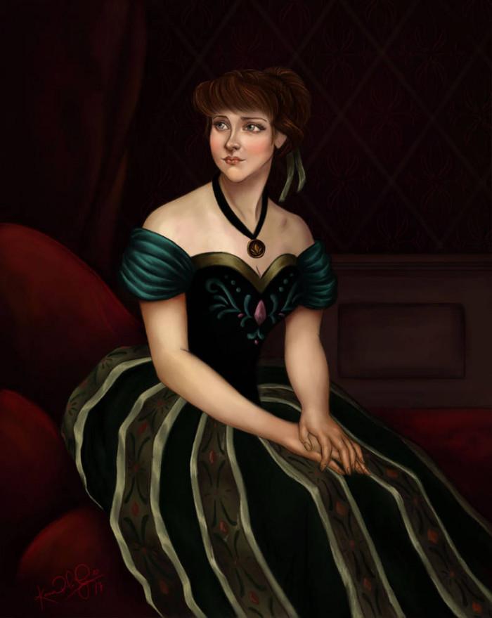 32. Princess Anna of Arendelle