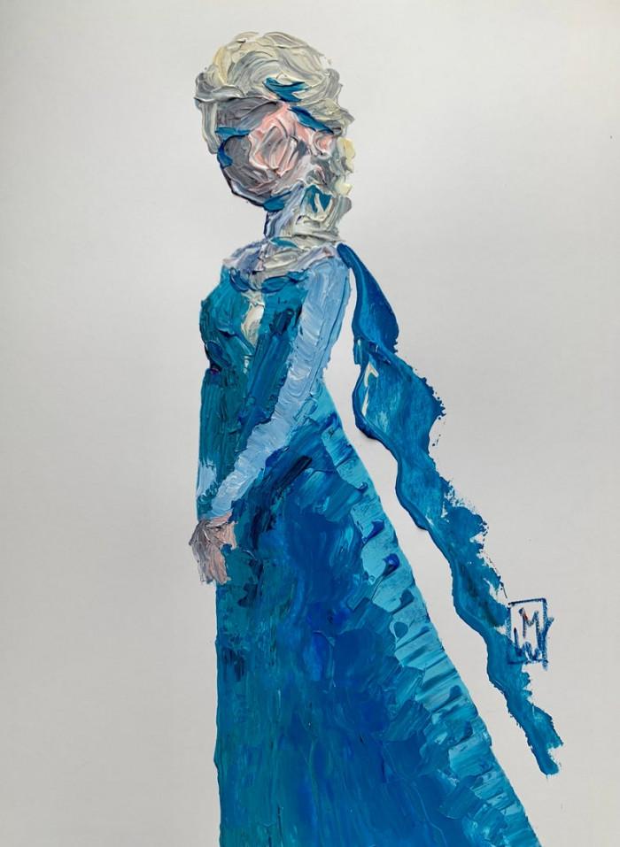 17. Queen Elsa