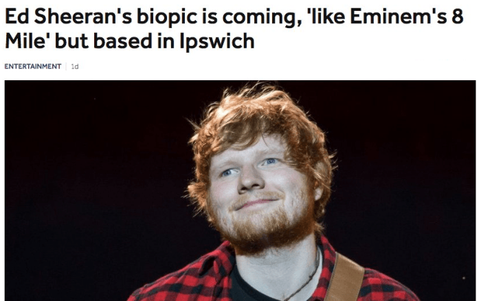 32. Wow! How many similarities are there between Ed Sheeran and Eminem?